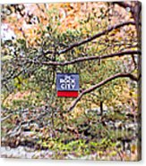 See Rock City Acrylic Print