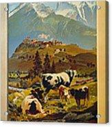 See Switzerland 1906 Acrylic Print