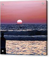 See The Sun Set Acrylic Print by Camille Lopez