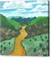 Seeded Waterway Acrylic Print