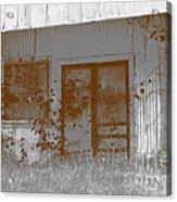 Seen Better Days Acrylic Print by Connie Fox