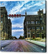 Seen Better Days Old Pabst Brewery Home Of Blue Ribbon Beer Since 1860 Now Derelict Acrylic Print