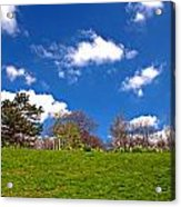 Sefton Park Liverpool In Spring Time Acrylic Print