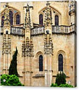 Segovia Cathedral Acrylic Print