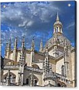 Segovia Gothic Cathedral Acrylic Print by Ivy Ho