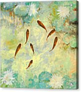 Sei Pesciolini Verdi Acrylic Print