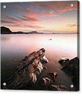 Seil Island Sunset Acrylic Print