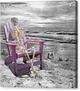 Selective Acrylic Print by Betsy Knapp