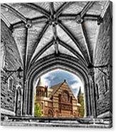 selective colors Princeton University Acrylic Print