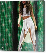 Selena Gomez-8678-1 Acrylic Print