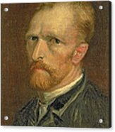 Self Portrait, 1886 Acrylic Print