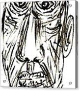 Self-portrait As An Old Man Acrylic Print