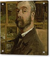 Self Portrait, C.1884 Acrylic Print