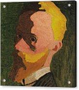 Self Portrait Acrylic Print by Edouard Vuillard