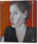 Self - Portrait Acrylic Print