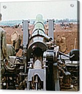 Self-propelled 8 Inch Howitzer M110 Lz Oasis R V N 1968 Acrylic Print