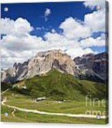 Sella Group. Italian Dolomites Acrylic Print