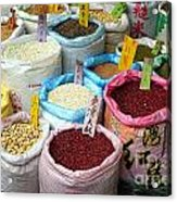 Selling Beans Nuts And Grains Acrylic Print