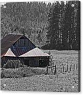 Selma Barn Scene Acrylic Print