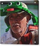Senior Frog Acrylic Print