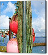 Sennen Cove Buoys Acrylic Print