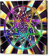 Sense Creation Five Acrylic Print by Derek Gedney