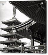 Senso-ji Temple In Tokyo  Acrylic Print