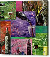 Sensual Wine  Acrylic Print by Mark Moore