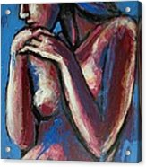 Sentimental Mood- Female Nude Acrylic Print