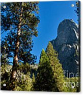 Sentinel Dome, Yosemite Np Acrylic Print