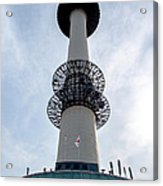 Seoul Tower Acrylic Print