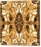 Sepia Bag Fairies 1 Acrylic Print