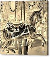 Sepia Horse Acrylic Print