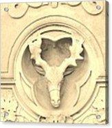 Sepia Reindeer Acrylic Print