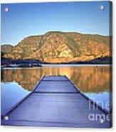 September 1st At Skaha Lake Acrylic Print
