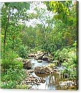 September Arrives At The Unami Creek Acrylic Print