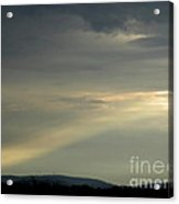 September Sunbeam Acrylic Print
