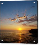 September Sunday Sunset  Acrylic Print