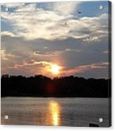 September Sunset Acrylic Print