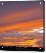 September Sunset Three  Acrylic Print