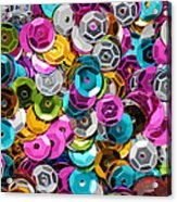 Sequins Abstract Acrylic Print