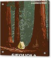 Sequoia National Park Acrylic Print