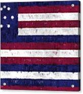 Serapis Flag Acrylic Print by World Art Prints And Designs
