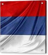 Serbian Flag Acrylic Print