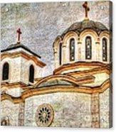 Serbian Orthodox Church - San Marcos California Acrylic Print