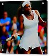 Serena Williams Making It Look Easy Acrylic Print