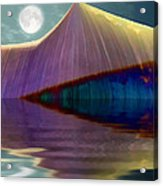 Serendipity By Moonlight Acrylic Print by Wendy J St Christopher