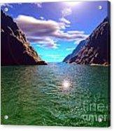 Serene Cove Acrylic Print