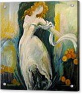 Serene Dancer Acrylic Print