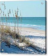 Serene Florida Beach Scene Acrylic Print